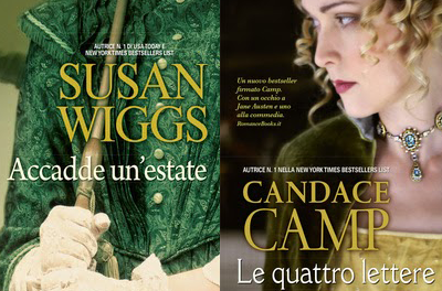 """Anteprima: """"Le Quattro Lettere"""" di Candace Camp & """"Accadde Un'Estate"""" di Susan Wiggs"""
