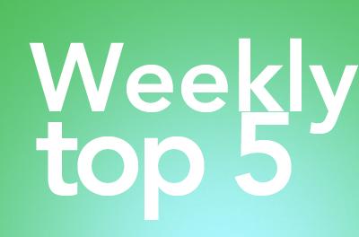 Rubrica: Weekly top 5: Le 5 coppie migliori delle serie tv