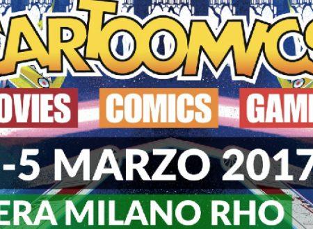 Milano: torna Cartoomics!