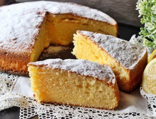 Angolo Ricette: Torta Limoncina
