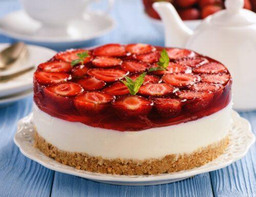 Angolo Ricette: Cheesecake alla fragola